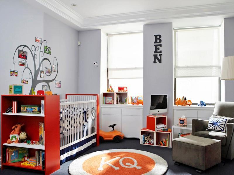 как выбрать цвет детской комнаты