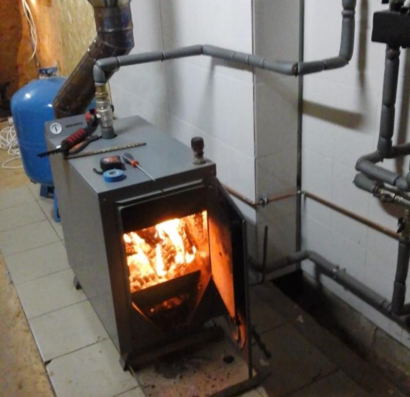 Временное отопление дома