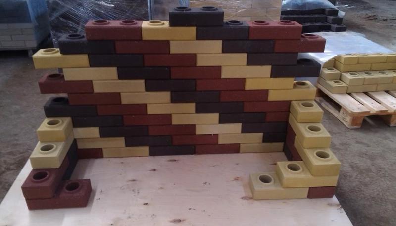 Использование лего-кирпича (фото) в строительстве