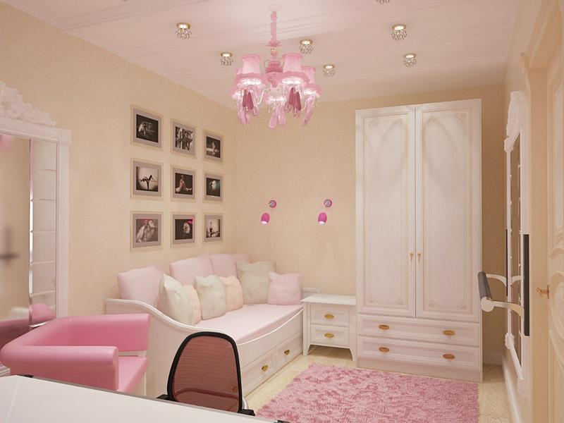 Дизайн комнаты для девушки (фото): современные идеи