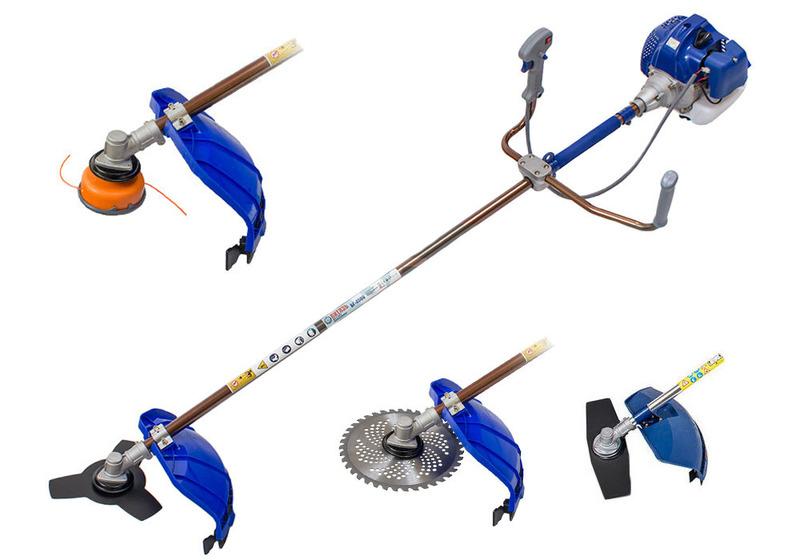 Триммер бензиновый: устройство, виды, принцип работы
