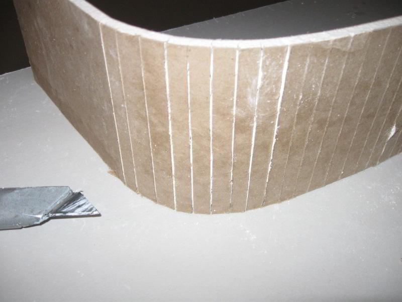 Способы как согнуть лист гипсокартона в домашних условиях