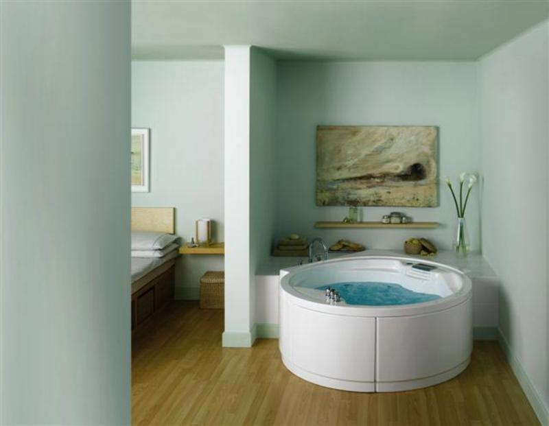 Гидромассажные ванны (фото): особенности, виды форм и материалов, как выбрать