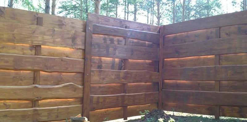 Забор из горбыля своими руками: этапы монтажа, советы и рекомендации