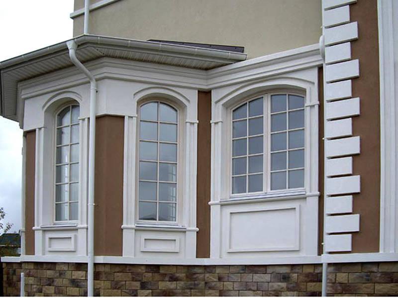 Фасадный пенопласт (фото): виды, характеристики, этапы монтажа