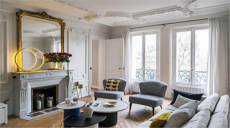 Французский стиль в интерьере (фото): черты и особенности