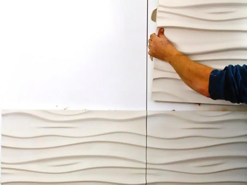 Укладка гипсовой плитки: советы и рекомендации