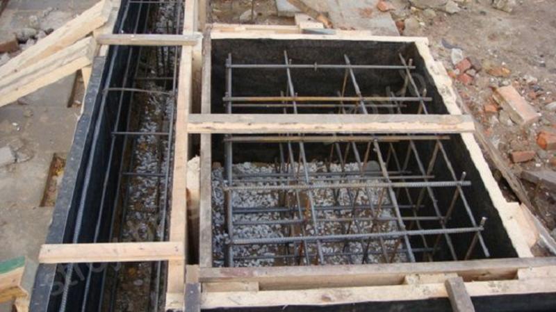 Фундамент под кирпичную и железную печь