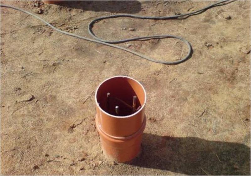 Столбчатый фундамент из пластиковых труб: особенности, этапы монтажа