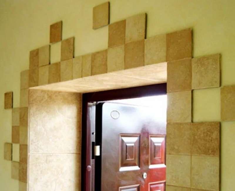 Как сделать откосы на дверях: варианты отделки откосов с фото и способы их монтажа