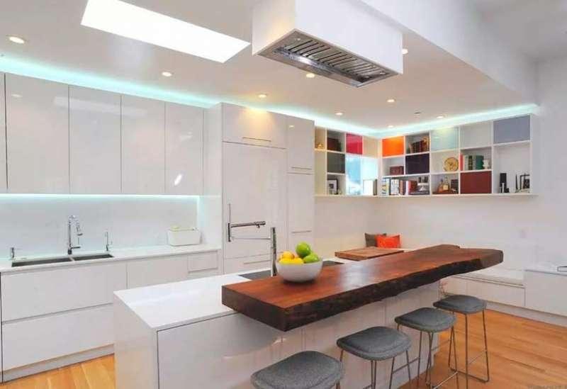 Интерьер кухни: смелые дизайнерские идеи с фото