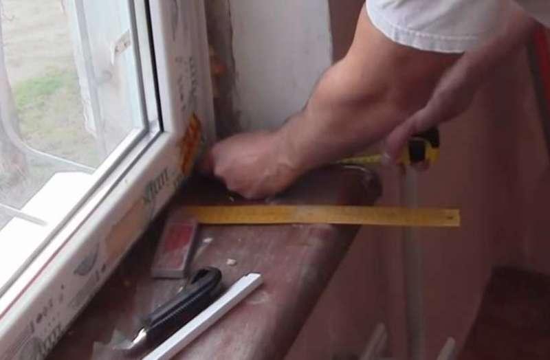 Как выбрать и сделать своими руками откосы для пластиковых окон