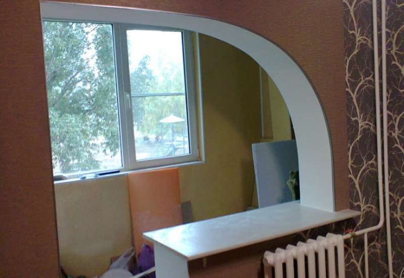 арка на балкон 1