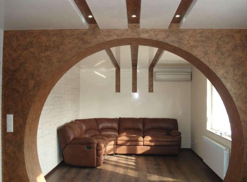 арка в зал 1
