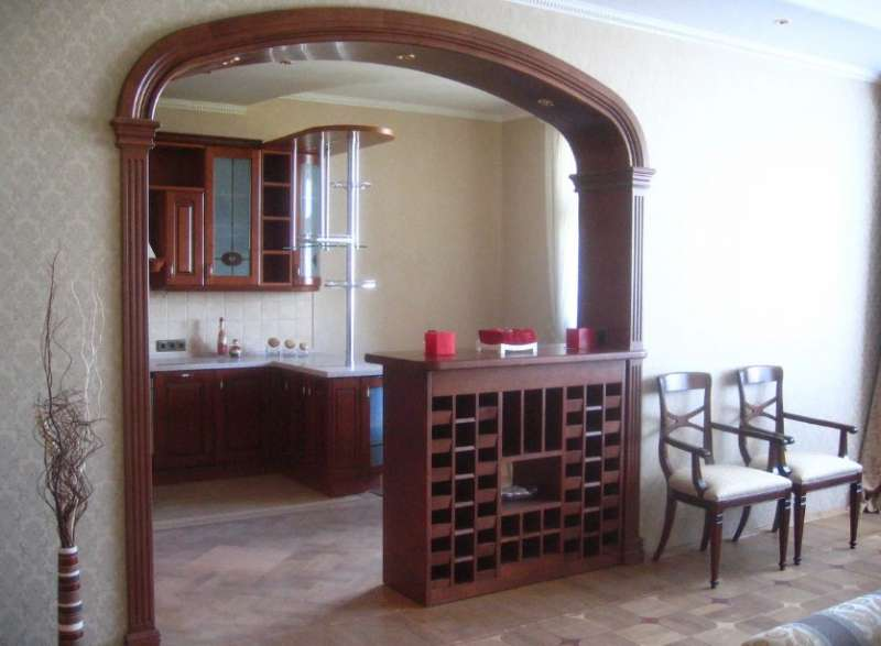 арка на кухню 1