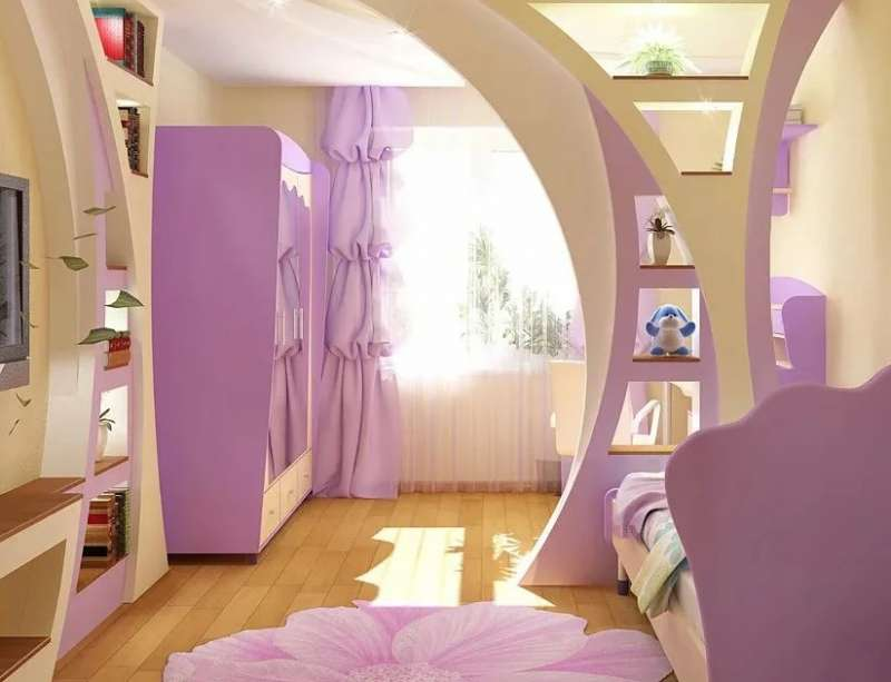 арка на детской 2