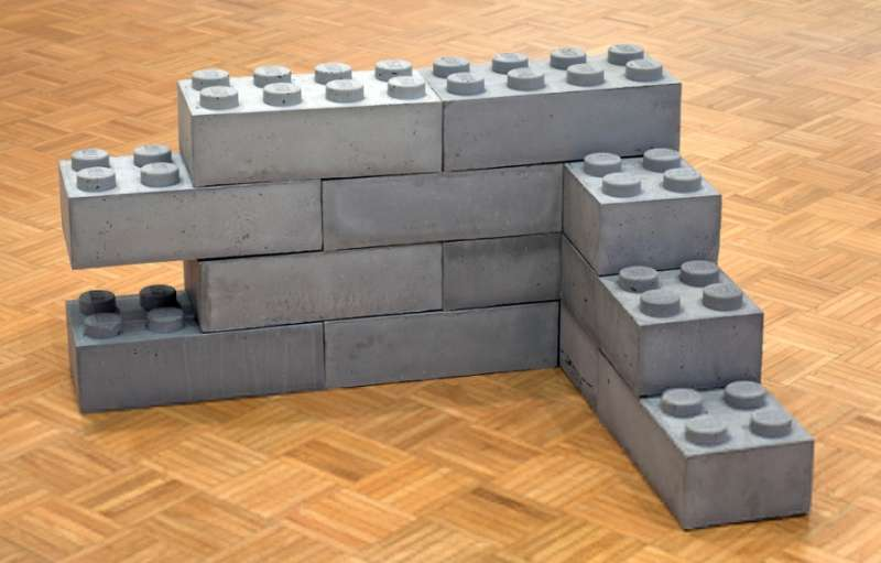 форма блока