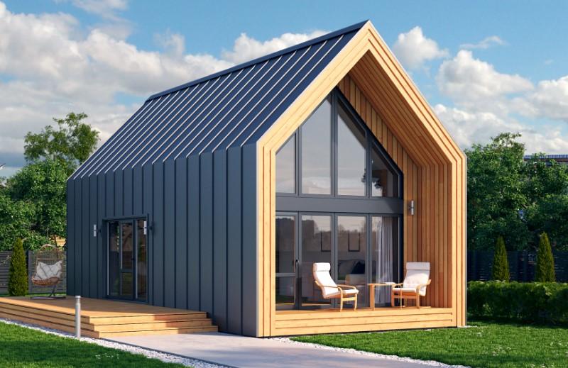 Строительство дома в стиле Барнхаус: плюсы и минусы «дома-амбара», красивые фото